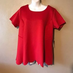 Eloquii red top size 18